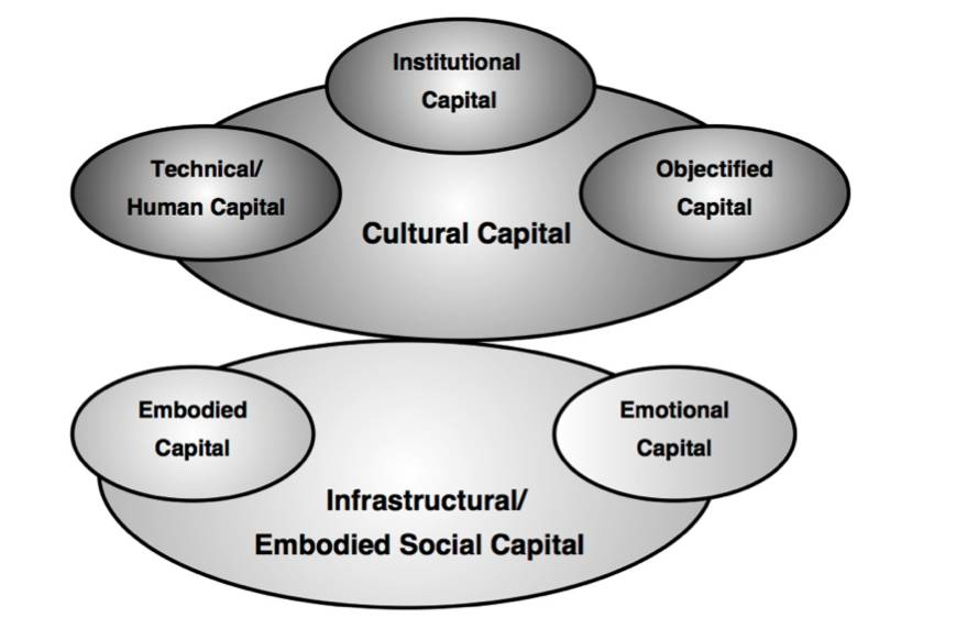 Figure 2: A disaggregated conception of social capital (Source: Phillips, forthcoming)